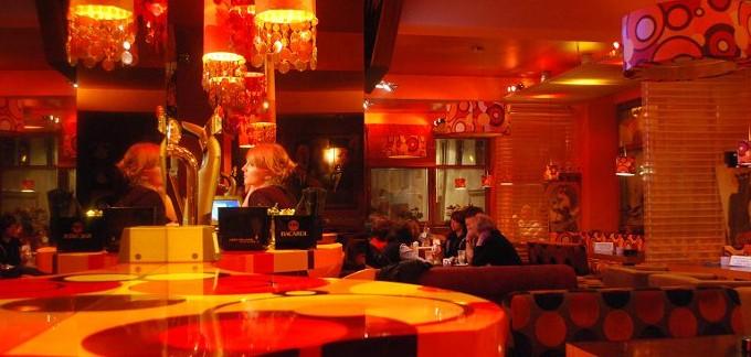 Nova Resto Bar - wystrój wnętrza