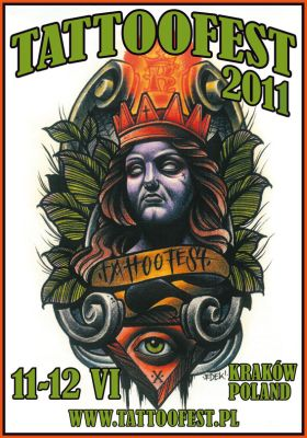 Plakat Tattoofest 2011