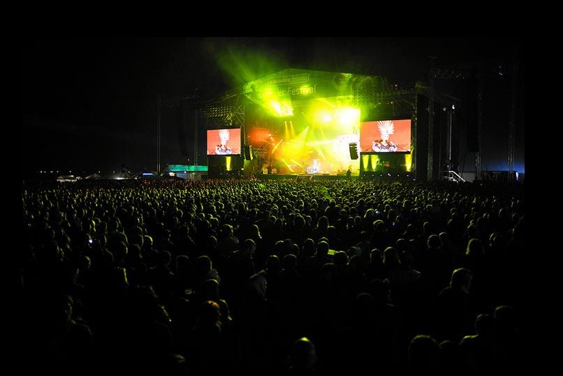 Scena festiwalu Open'er 2010