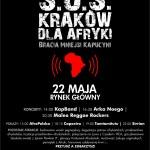 Wszystkie szczegóły dotyczące organizowanej akcji można było sprawdzić na specjalnych plakatach promujących wydarzenie w całym Krakowie. | źródło: www.misje.kapucyni.pl