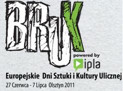 Logo festiwalu Bruk 2011