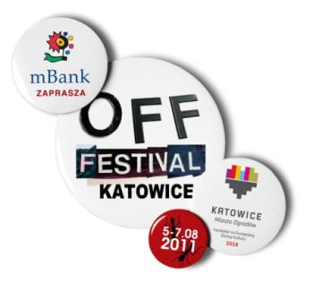 Oficjalne logo festiwalu Off 2011