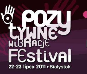 Logo festiwalu Pozytywne Wibracje 2011
