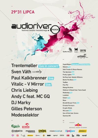 plakat Audioriver