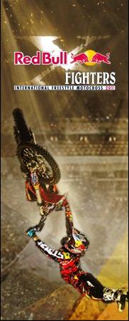 Plakat promujący tegoroczne zawody z cyklu Red Bull X-Fighters