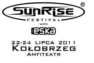 Logotyp festiwalu Sunrise 2011