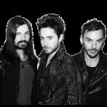 Tomo Miličević, Jared Leto i Shannon Leto - obecny skład zespołu 30 Seconds To Mars | fot.: www.facebook.com/thirtysecondstomars