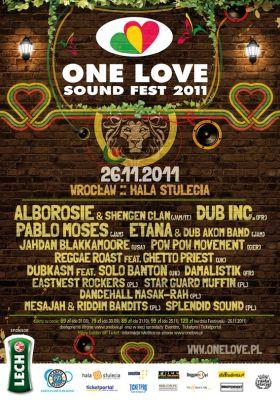 Plakat promujący 8. edycje festiwalu reggae we Wrocławiu