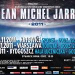 Plakat promujący listopadową trasę koncertową artysty w Polsce | źródło fot:www.metalmind.com.pl