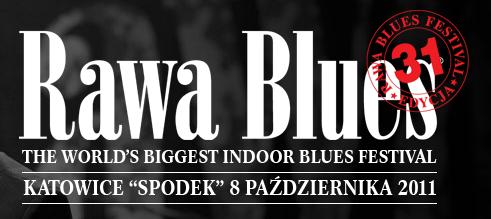 Logo festiwalu Rawa Blues