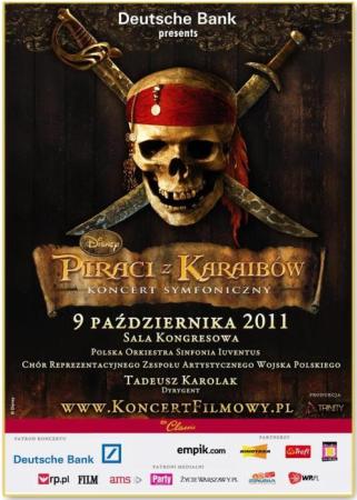 Plakat promujący koncert symfoniczny w Sali Kongresowej