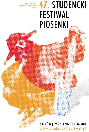 Plakat 47 edycji Festiwalu Studenckiej Piosenki