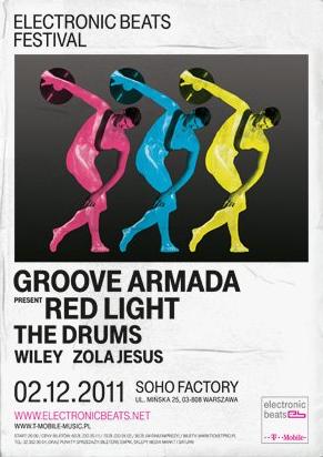 Plakat festiwalu Electronic Beats 2011