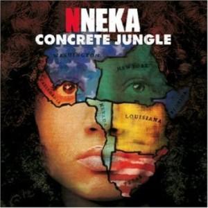 Okładka najnowszego krążka artystki - Concrete Jungle