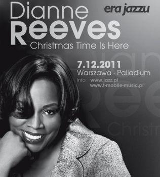 Plakat zapraszający na koncert Dianne Reeevs