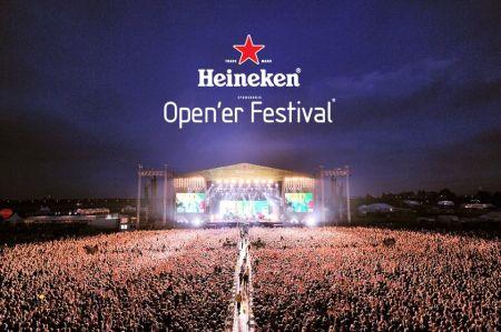 Widok na scenę podczas heineken Opener Festiwal 2011
