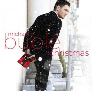 Michael Buble na okładce swojego najnowszego albumu Christmas