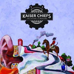Okładka najnowszej płyty zespołu Kaiser Chiefs - The Future is Medieval