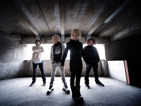 Członkowie zespołu The Rasmus