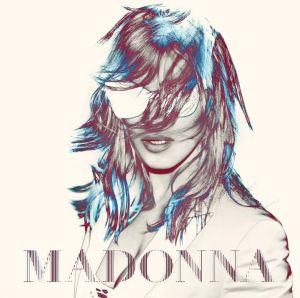 Plakat z trasy koncertowej Madonny