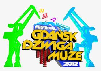 Logotyp Festiwalu Gdańsk Dźwiga Muzę 2012