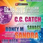 Boney M, Sandra, C.C. Catch... W czerwuc we Wrocławiu usłyszymy prawdziwą elite muzyki Disco!