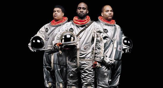 Zdjęcie muzyków z zespołu De La Soul