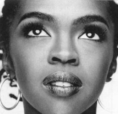 Zdjęcie młodej Lauryn Hill