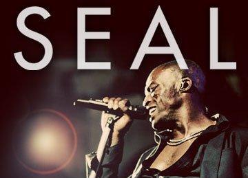 Seal podczas koncertu