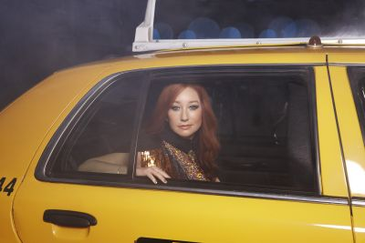 Zdjęcie promocyjne nowego albumu artystki - Gold Dust