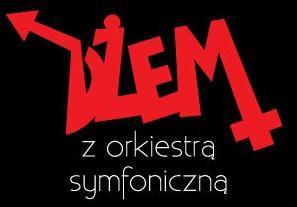 Logo koncertu zespołu Dżem z orkiestrą Symfoniczną