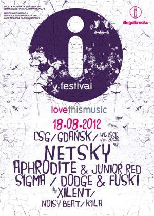 Plakat tegorocznej edycji festiwalu iFestival 2012