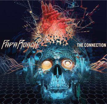 Okładka najnowszego studyjnego albumu grupy Papa Roach - The Connection