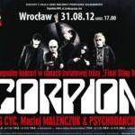 Czy trasa koncertowa Final Sting Tour 2012 i odbywający się w jej ramach wrocławski koncert zespołu Scorpions będzie rzeczywiście ostatnim występem muzyków w Polsce?
