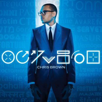 Chris Brown - okładka albumu Fortune