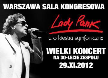 Lady Pank z Orkiestrą Symfoniczną - plakat