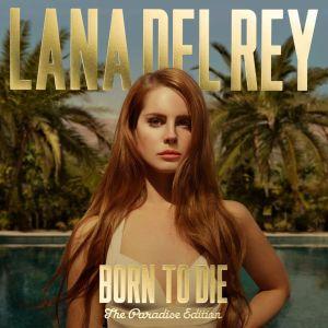 Lana del Rey - Born to die. The Paradise edition. Okładka albumu.