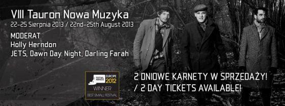 Festiwal Tauron Nowa Muzyka 2013 - plakat