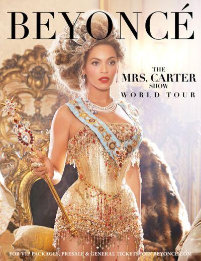 Beyonce Knowles - plakat najnowszego Tour