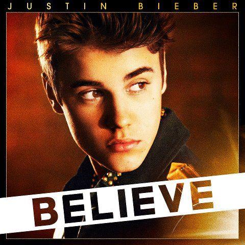 Justin Bieber - Believe - okładka albumu